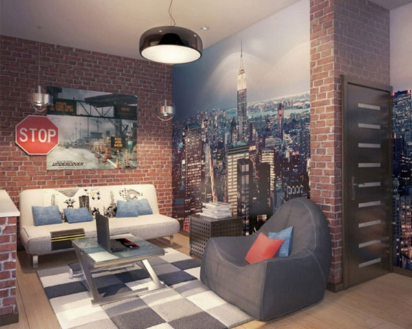 Remodelaholic top ten teen hangout areas and link party for Chambre loft ado