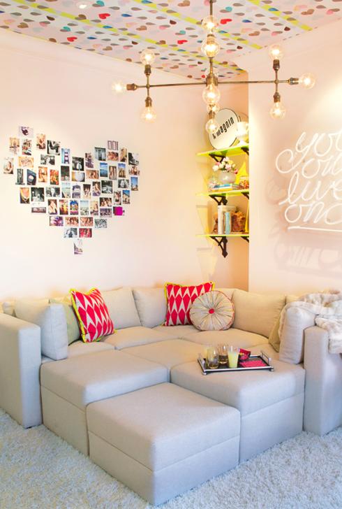 Corner Couch Teen Hangout