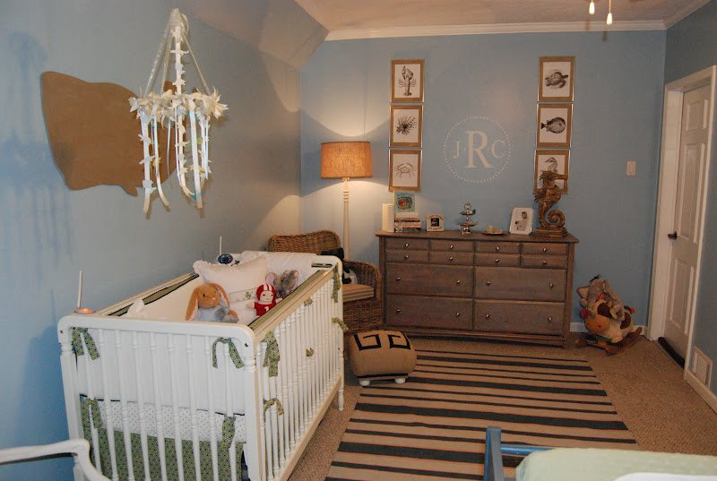 Boy's Nautical Nursery