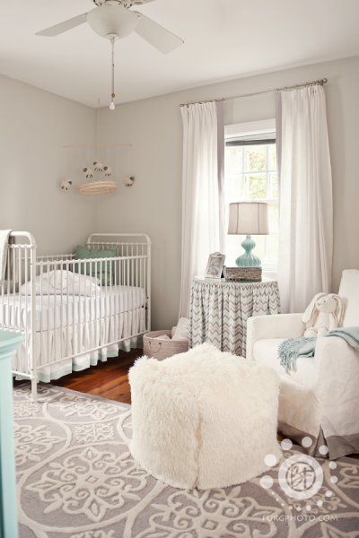 Grey and White Neutral Nursery