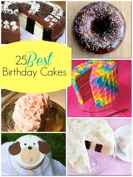 25 Best Birthday Cakes