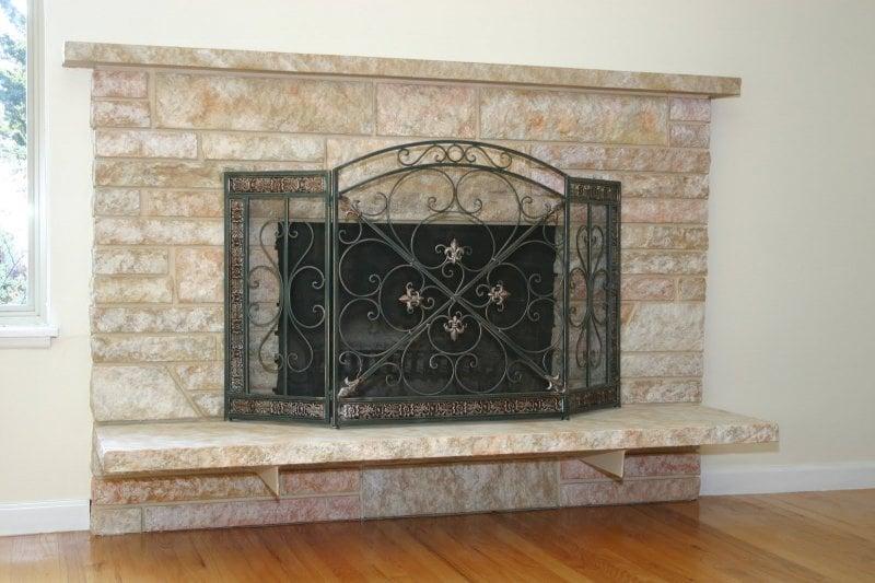 remodelaholic 25 best diy fireplace makeovers. Black Bedroom Furniture Sets. Home Design Ideas