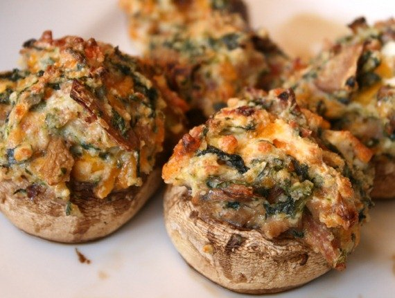 Stuffed Mushrooms from Remodelaholic