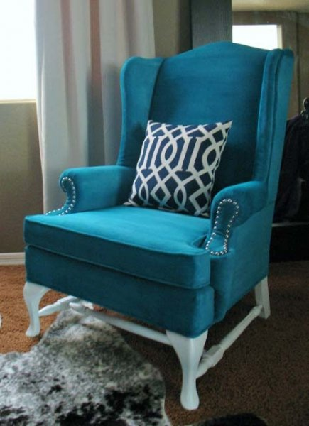 Painted Upholstery Armchair