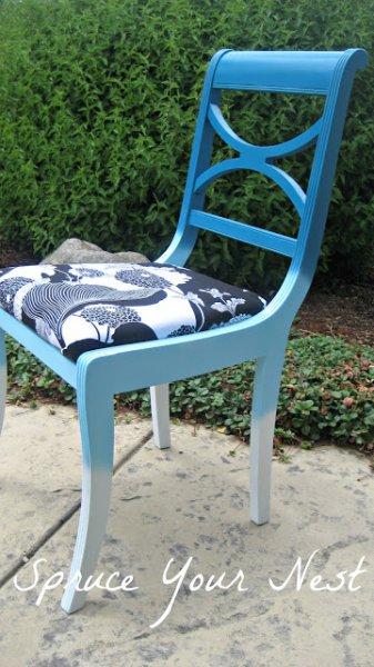 Painted Ombre Chair