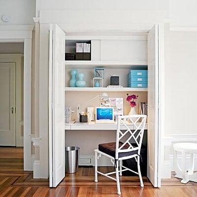 Streamlined White Office