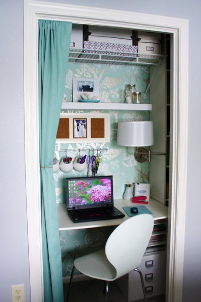 25 Clever Closet Offices