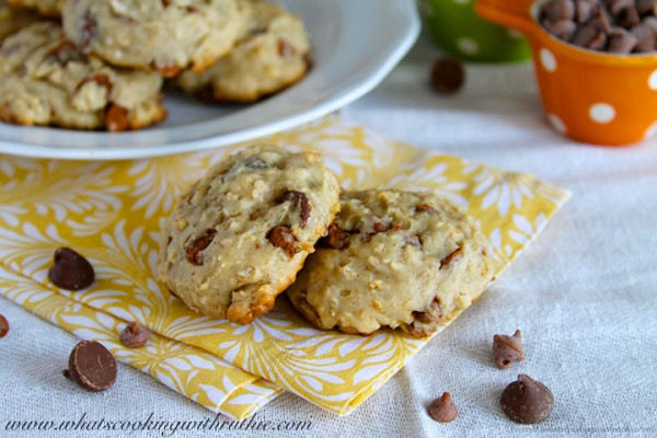 Chocolate Chip Oatmeal Banana Cookies | What's Cooking With Ruthie ...