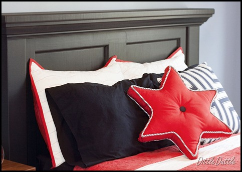 Pottery Barn Inspired Bed