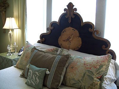 Elegant Wood Headboard