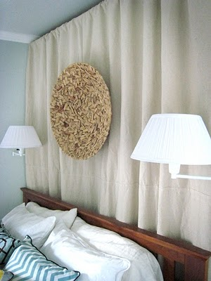 Curtain Headboard