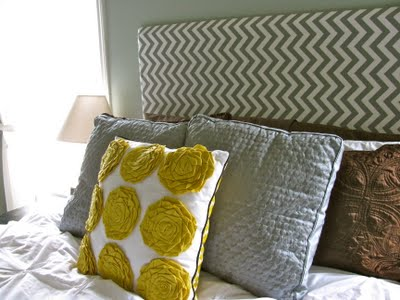 Chevron Fabric Headboard