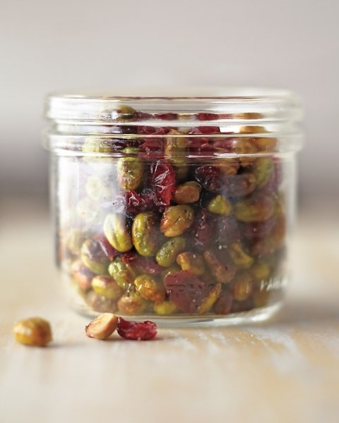Dry Roasted Edamame with Cranberries