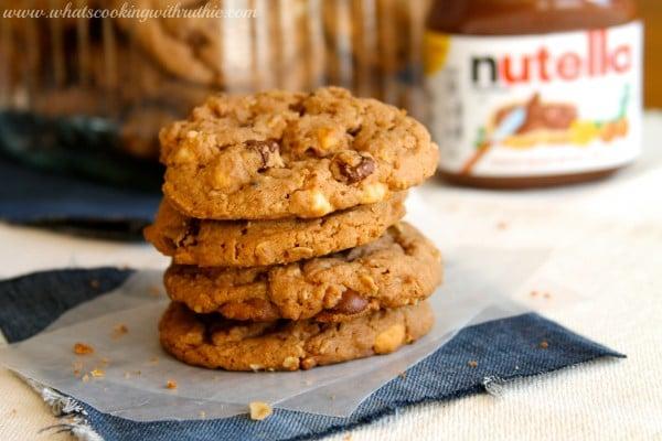 Nutella 5 Chip Cookies