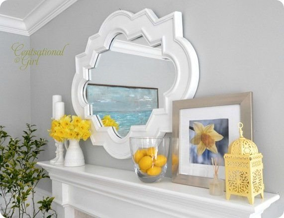 Yellow Spring Mantel