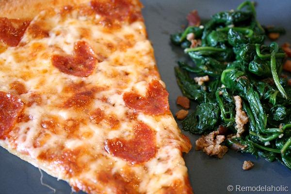 Valentine's Pizza Dinner