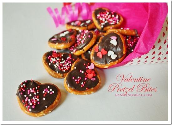 Valentine Pretzel Bites