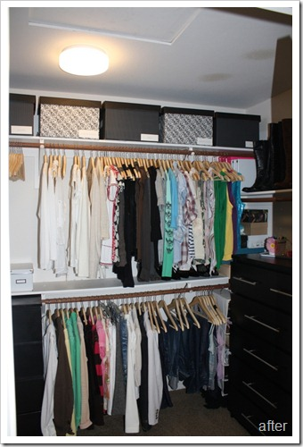 Organizing Your Closet