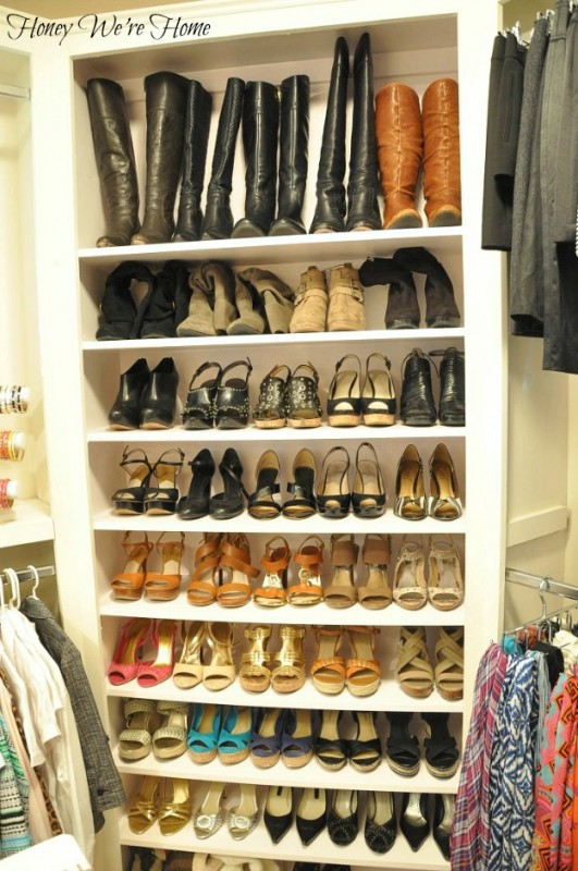 How To Organize Your Shoes In A Small Closet