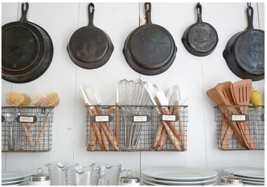 Organizing Kitchen Tools