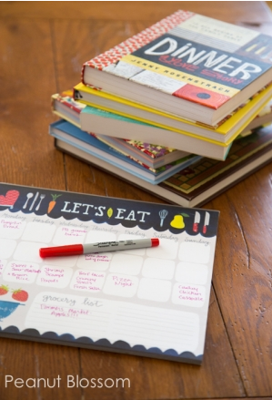 Organizing Meal Planning