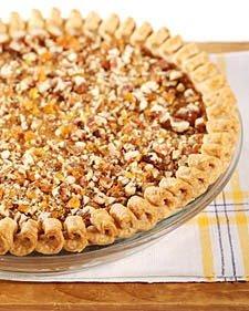 Pumpkin Pecan Praline Pie