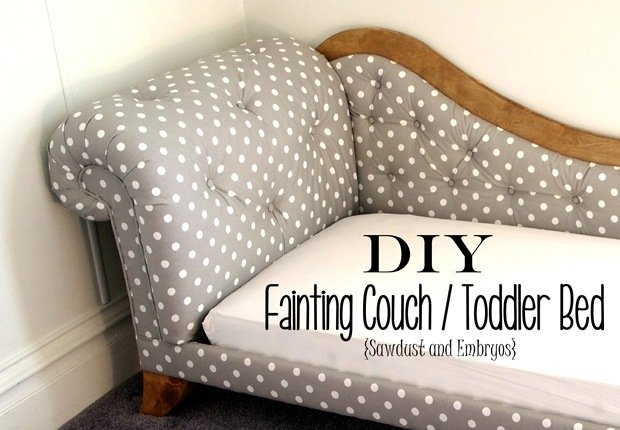 Toddler-sized Fainting Couch