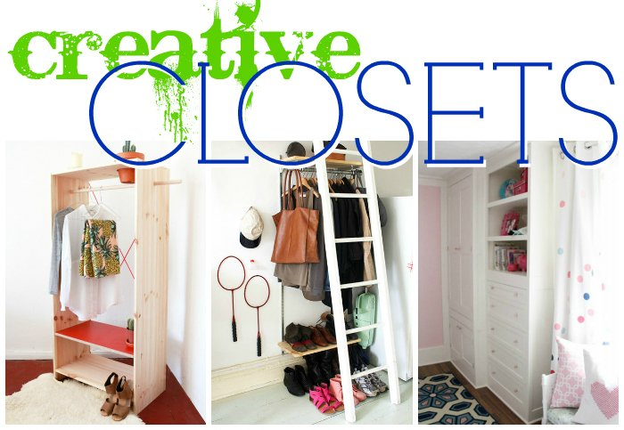 Remodelaholic 14 Creative Closet Solutions To Organize