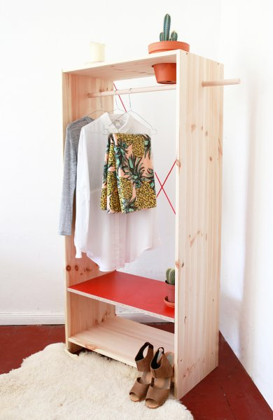Freestanding Closet With Planter