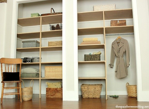 Marvelous Wall To Wall Closet Shelves