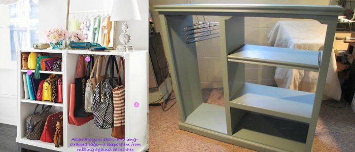 Remodelaholic 14 creative closet solutions to organize for Extra closet storage