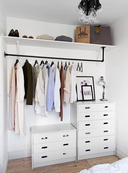 Over Wardrobe Storage remodelaholic | 14 creative closet solutions to organize and add