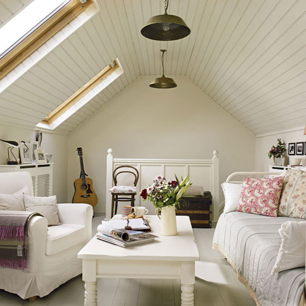 Bright Cottage Living Room