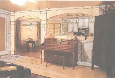 living roon arches rendering