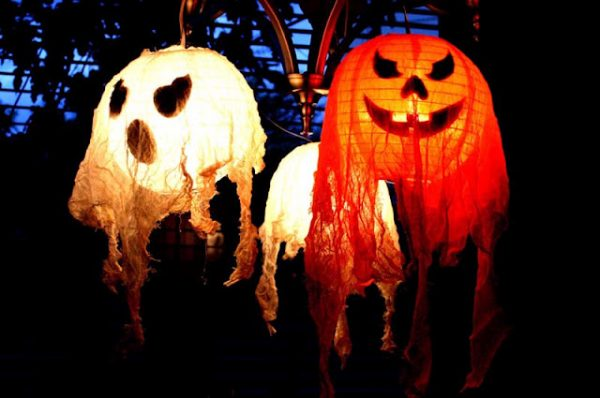 halloween decor lanterns - Halloween Decor