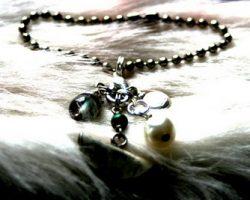 Make necklace pendants from single earrings!