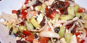 Quick Greek Salad Recipe