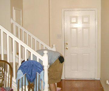Enter here; Entry Remodel Plans