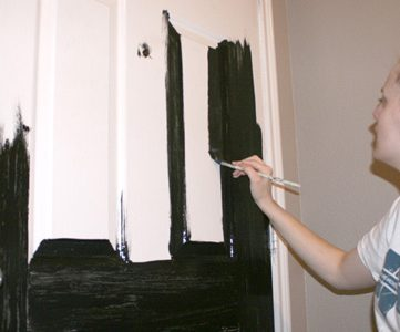 Little Black Dre..Door – Entry Remodel Continued