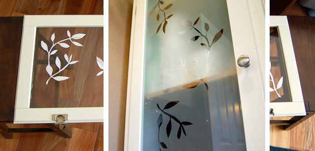 Faux Frosted Glass Tutorial