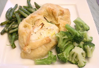 Tilapia baked in puff pastry recipe