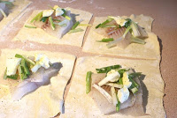 Tilapia baked in puff pastry recipe3