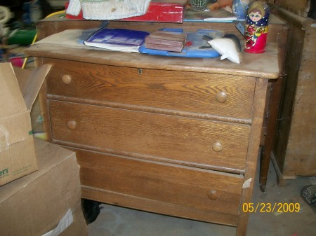 how to make a mirrored dresser from an old dresser tutorial (1)
