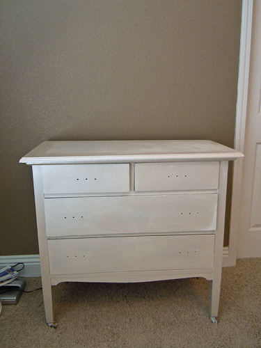 how to make a mirrored dresser from an old dresser tutorial (2)