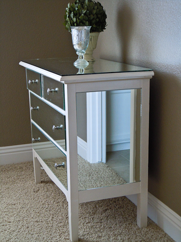 how to make a mirrored dresser from an old dresser tutorial (7)