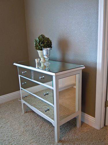 Remodelaholic | You Look Good, Mirrored Dresser, Guest
