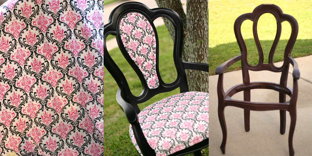 Take a bow, I mean seat; Reupholstery Project