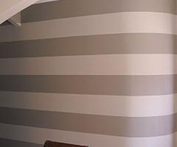 striped entry wall horizontal wall stripes