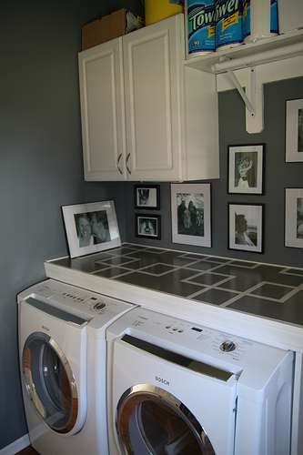 laundry room counter tutorial