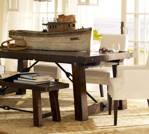 Build Dining Room Table: How To Build A Rustic Outdoor Dining Table